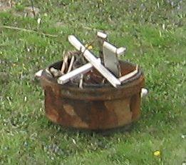 Brake Drum Fire Pit